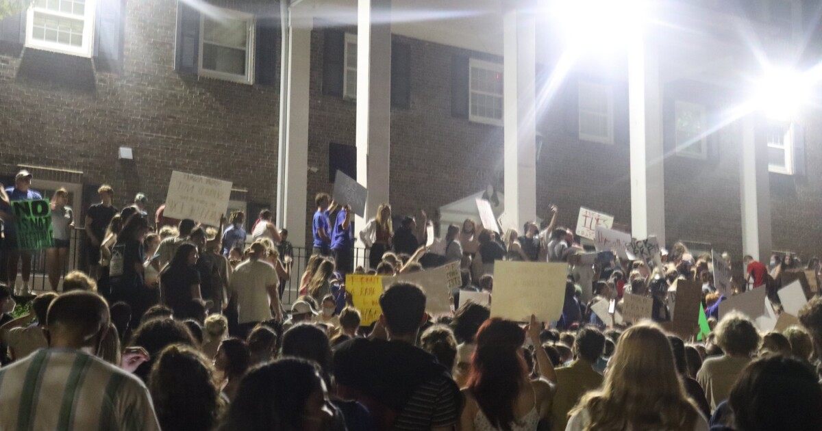 At Kansas, Another Confrontational Protest Against Greek Life
