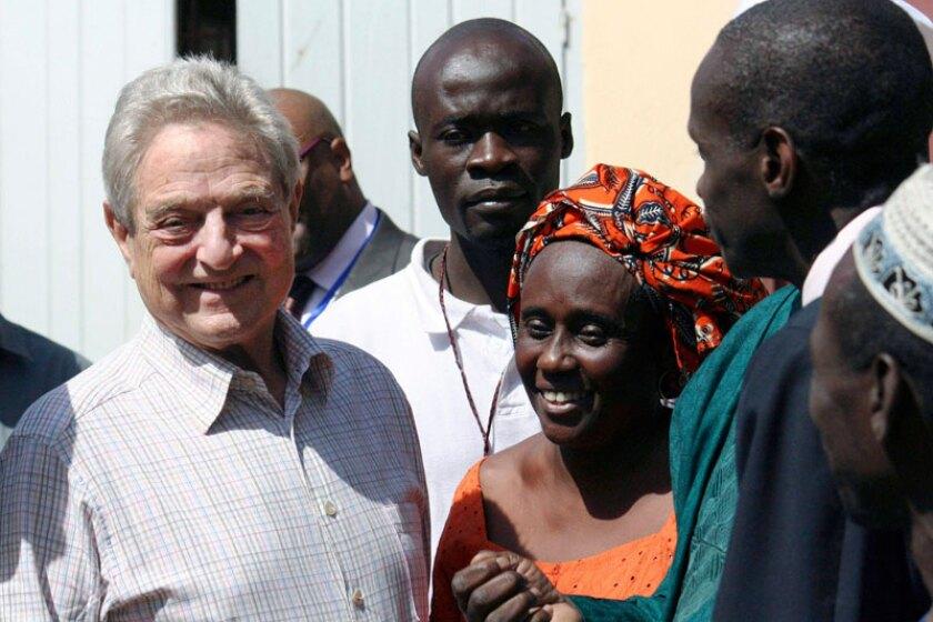 George Soros Philanthropy 50 de fevereiro de 2011 Foto