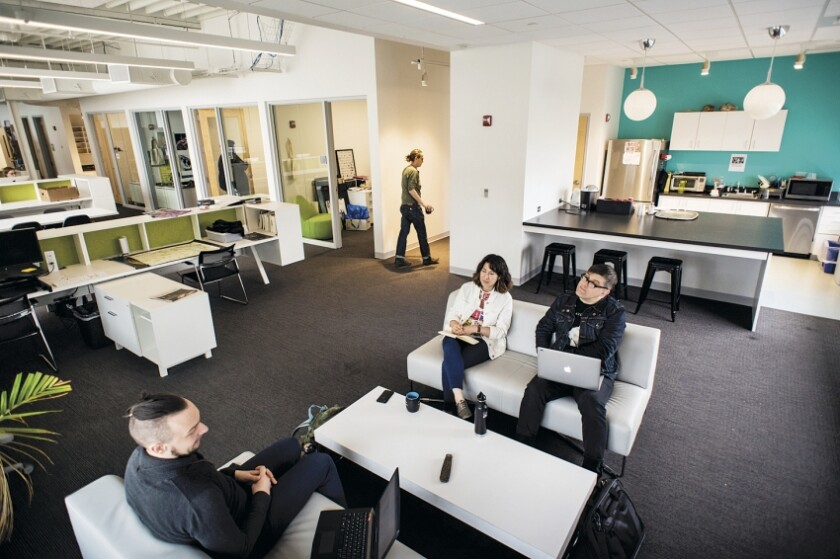 JHU + MICA Film Centre Shared Open Office - Photo by Karl Connolly, courtesy of Ziger Snead Architects.jpg